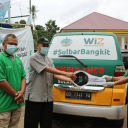 Pasca Gempa Sulbar, Wahdah Islamiyah Pusat Serahkan Ambulance