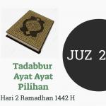 (Tadabbur Qur'an) Ayat- Ayat Pilihan Juz- 2