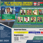 The 2nd International  on Halal Issue, Policy and Sustainability (IC-HalalUMI) 2020